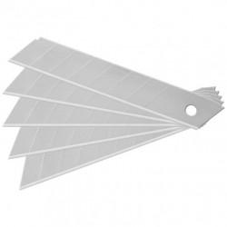 Kit 10 lame di  ricambio per cutter taglierini - 18mm.